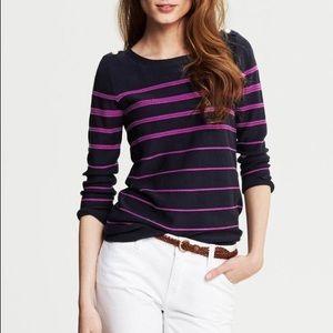 Banana Republic Rope Stripe Pullover Sweater